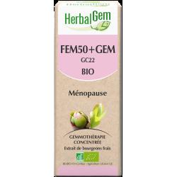 Fem+gem complexe 50+ bio - Herbalgem klessentiel.com