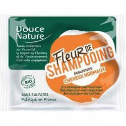 shampooing bio solide - cheveux normaux- Douce Nature klessentiel.com