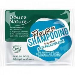 Fleur de shampooing bio anti-pelliculaire - Douce Nature klessentiel.com