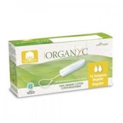 Tampon coton bio sans applicateur Regular - Organyc klessentiel.com