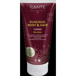 Gel douche corps et cheveux 2 en 1 - Sante Naturkosmetik Klessentiel.com