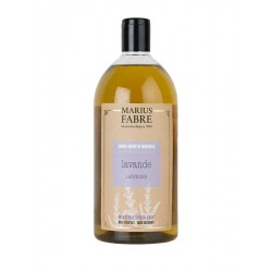 Savon liquide de Marseille Lavande - Marius Fabre klessentiel.com