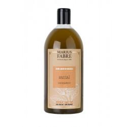 Savon liquide de Marseille Santal - Marius Fabre klessentiel.com