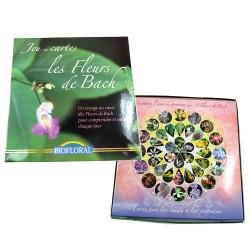 """Jeu de cartes """"Les fleurs de Bach"""" - Biofloral klessentiel.com"""