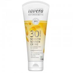 Crème solaire Sensitive SPF30 - Lavera klessentiel.com