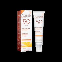 Spray solaire SPF50 - Acorelle klessentiel.com