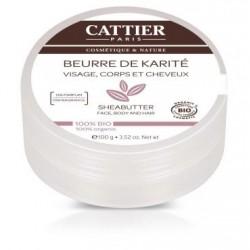 Beurre de karité 100% - Catier klessentiel.com