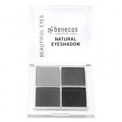 Fards à paupières camaïeu de gris (smokey eyes) bio - Benecos klessentiel.com