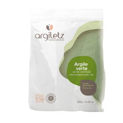 Argile verte ultra ventilée 300g - ArgileTz klessentiel.com