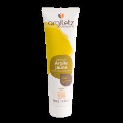 Masque d'Argile jaune peaux mixtes - ArgileTz klessentiel.com