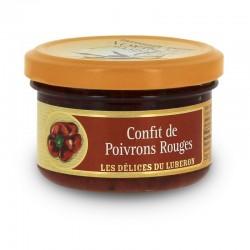 Confit de poivrons rouges - Les délices du Lubéron klessentiel.com