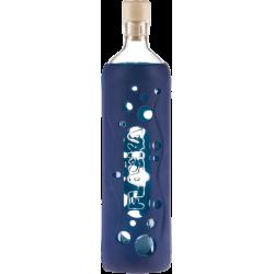 Bouteille grip bleu marine - Flaska klessentiel.com