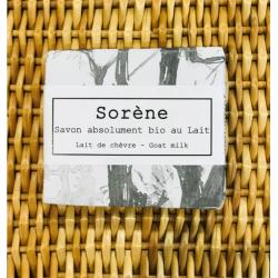 Savon absolument bio au Lait Sorène klessentiel.com
