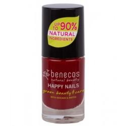 Vernis à ongles Cherry Red Benecos klessentiel.com