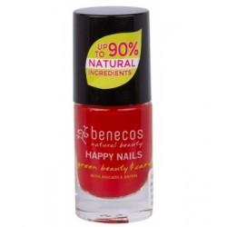 Vernis à ongles Vintage red benecos klessentiel.com