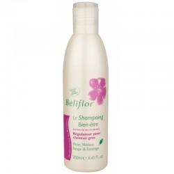 Shampoing régulateur pour cheveux gras Beliflor klessentiel.com
