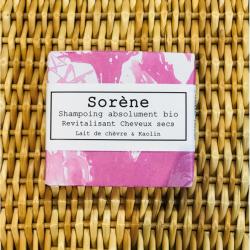 Le shampoing lait & kaolin cheveux fatigués Sorene klessentiel.com