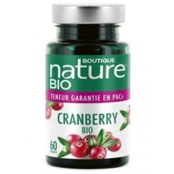 Cranberry Bio 60 gélules Boutique Nature klessentiel.com