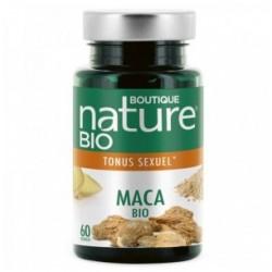 Maca Bio 60 gélules Boutique Nature klessentiel.com