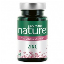 Zinc 60 gélules Boutique Nature klessentiel.com