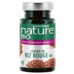 Levure de riz rouge 60 gélules Boutique Nature klessentiel.com