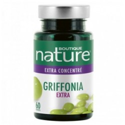 Griffonia extra 60 gélules Boutique Nature klessentiel.com
