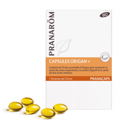 Origan+ (+essence de citron) Pranacaps Pranarom klessentiel.com