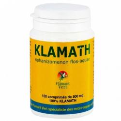 Klamath 120 comprimés Flamant vert klessentiel.com