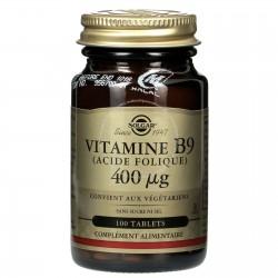 Vitamine B9 Solgar klessentiel.com