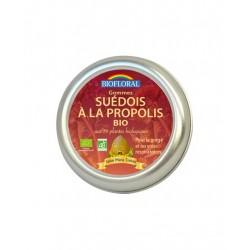 Gommes suédois à la propolis aux 59 plantes Biofloral