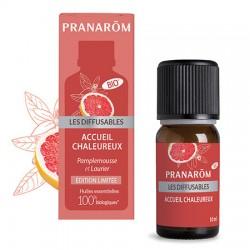 Diffusable acceuil chaleureux bio Pranarom (édition limitée) klessentiel.com