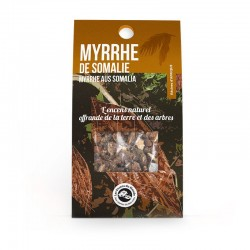 Encens naturels Myrrhe de Somalie Aromandise klessentiel.com