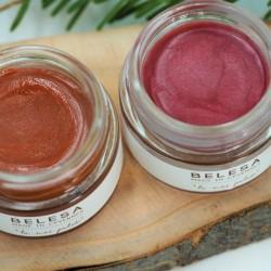 Beaume éclat de rose ou éclat d'abricot Belesa klessentiel.com